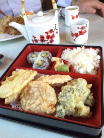 Glens Falls, estado de Nueva York: Vegetable Tempura Lunch Box