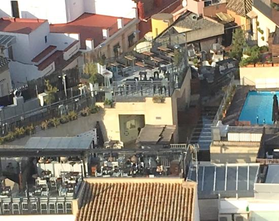 Rooftop bar picture of eme catedral hotel seville - Terraza hotel eme ...