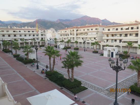 Hotel Mena Plaza: View from balcony