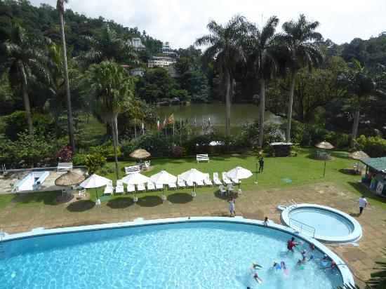 View Of Lake And Pool Picture Of Hotel Suisse Kandy Tripadvisor