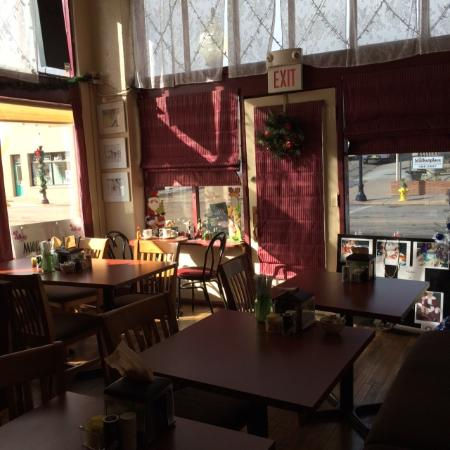 Millie's Bake House: view from our seats