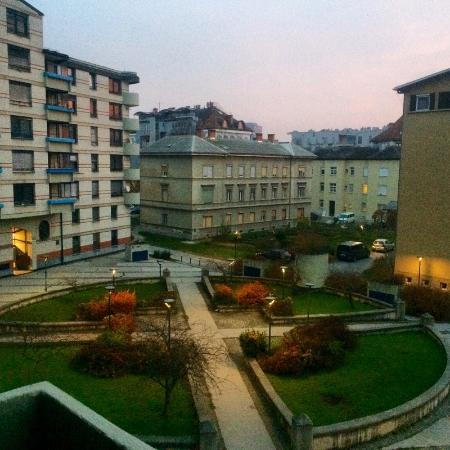 Central Apartments Tour As : View from the balcony of the Dvor