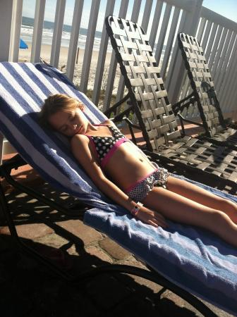 The Cove on Ormond Beach: Lounging at the pool