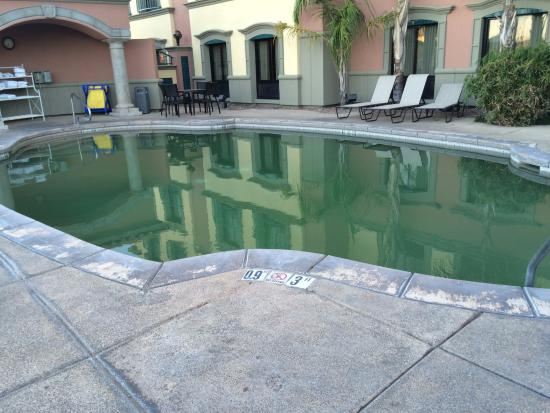 Holiday Inn Express Hotel & Suites Tucson Mall: GREEN pool! Needs maintenance....