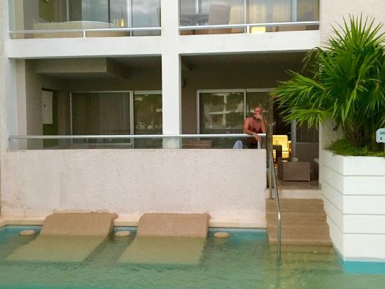 Swim Up One Bedroom Master Suit Picture Of Paradisus Playa Del Carmen La Esmeralda Playa Del