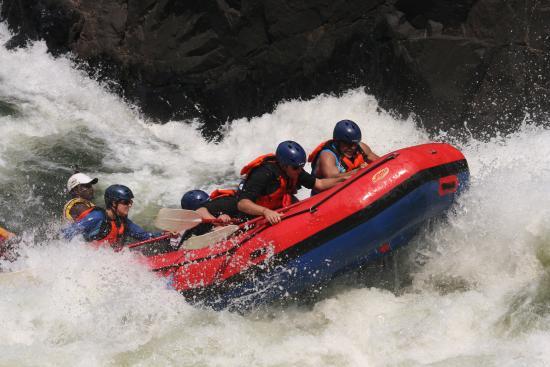 Zimbabue: truly amazing rapids