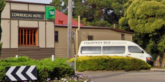 Top Pub: Courtesy Bus