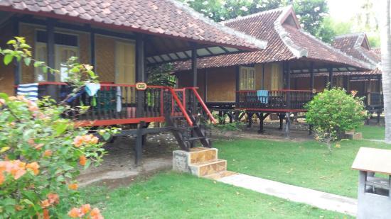 Sumbawa Besar, Индонезия: Kencana Beach Cottages
