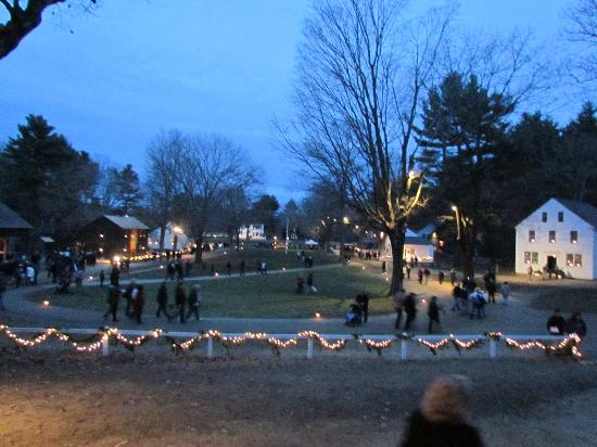 Christmas Village - Picture of Old Sturbridge Village, Sturbridge ...