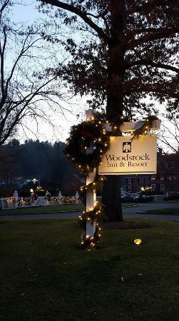 Woodstock Inn and Resort: Decorated for the Holidays