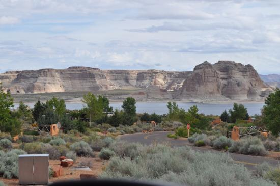 Wahweap Campground: View of Lake Powell