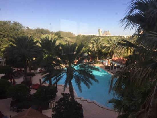 Renaissance Orlando Resort at SeaWorld: View from one of the windows