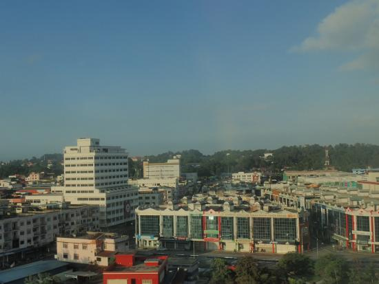 Prime City Hotel: View from room 802- Kluang City