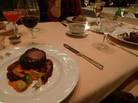 The Four Seasons Restaurant: Filet Mignon
