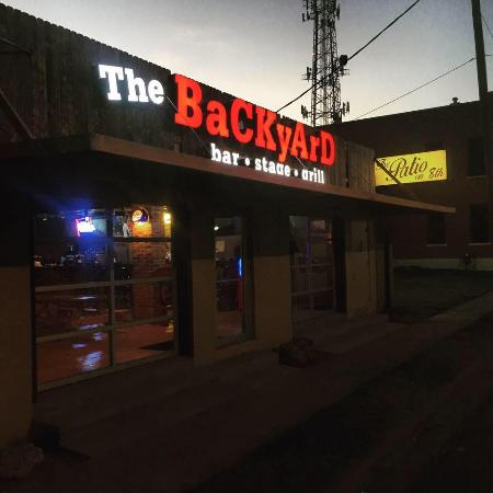 the backyard bar stage and grill waco menu prices restaurant