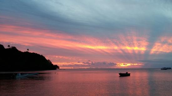 Beqa Island, Fiji: Beqa Lagoon Sunset