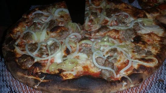 Angela's Coal Fired Pizza: Tuscan Pizza