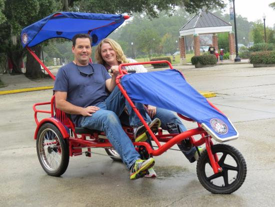 Three Wheeled Two-person Bike