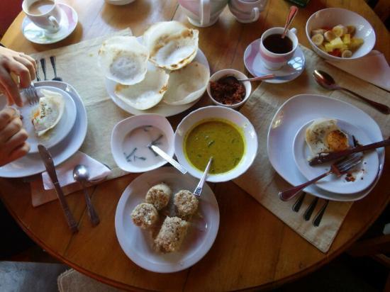 Sincere Wilderness: breakfast