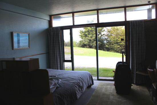 Lake Ohau Lodge : Lake view room