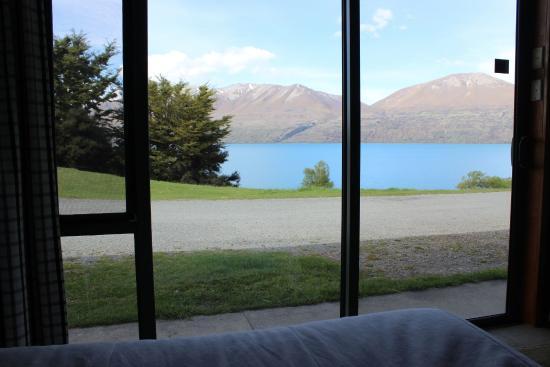 Lake Ohau Lodge : Lake view from our room