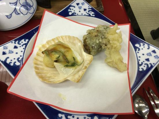 Isshinkan: 夕食2天婦羅