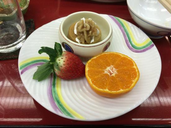 Isshinkan: 夕食3デザート