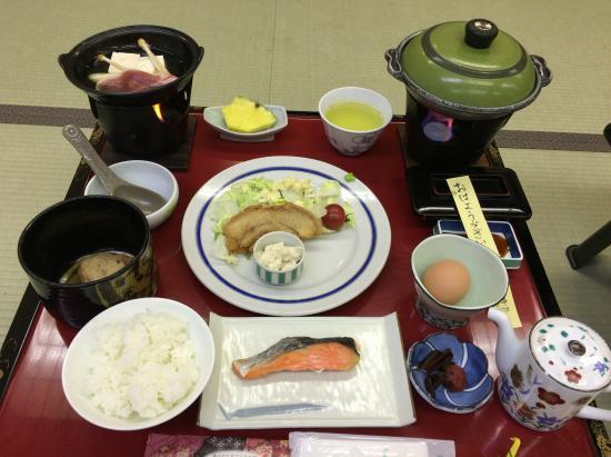 Isshinkan: 朝食