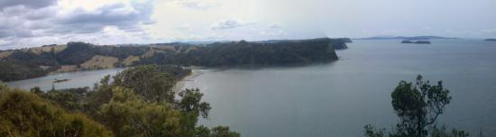 Waiwera, Nova Zelândia: From the top of the hill