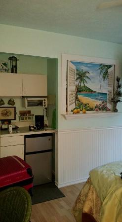 Dreams Come True on Maui Bed and Breakfast: kitchenette