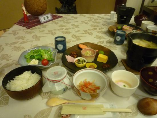 Nishiya: 朝食