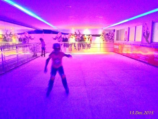 Ice Skating Cafe