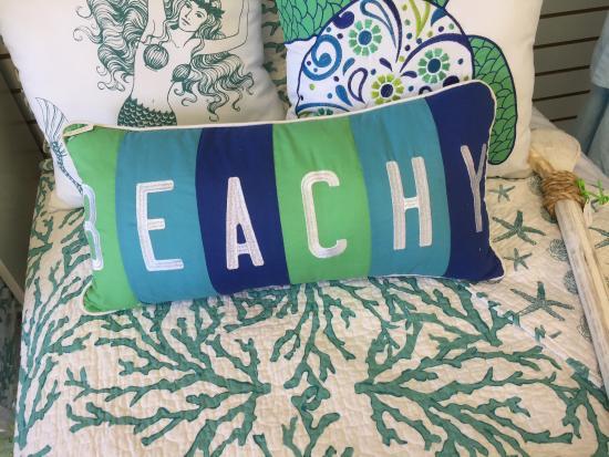 Ocean's Reach Condominiums: Fun pillow