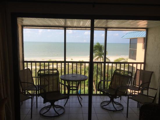 Ocean's Reach Condominiums: View from lanai.