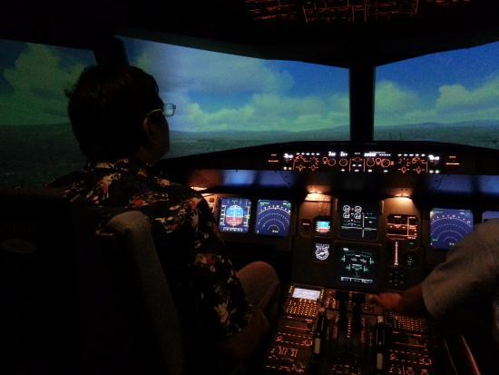 SimflightKL Simulation Flight: The cockpit.