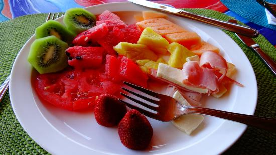 Xandari Resort & Spa: A lot of the fresh fruits are raised on the property