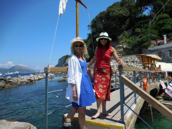 Birthday in Restaurant - Picture of Bagni Tiberio Capri, Capri ...