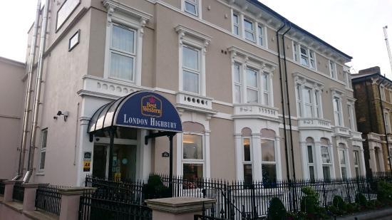 Best Western Hotel London Highbury