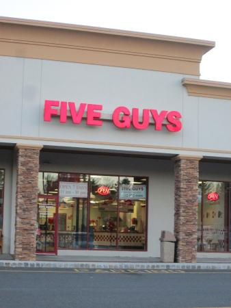 Five Guys Manalapan Restaurant Reviews Phone Number