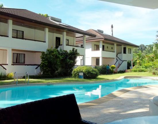 Pearl of the Pacific Boracay Resort & Spa: Poolview rooms close to the reception, short walk to the beach