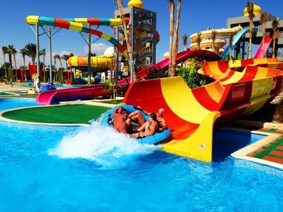 Aladdin Beach Resort: Аквапарк Aladdin Beach