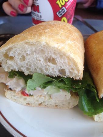 Tim Hortons: chicken sandwich