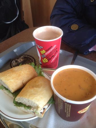 Tim Hortons: timmys lunch