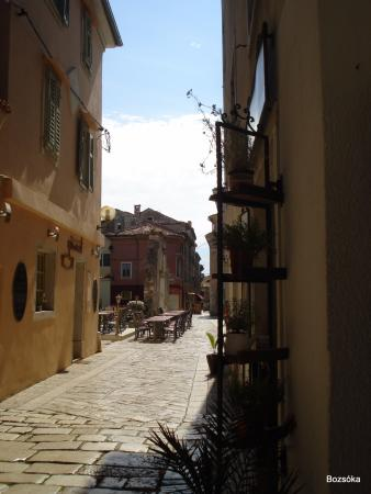 Istria, โครเอเชีย: Porecs, sikátor.
