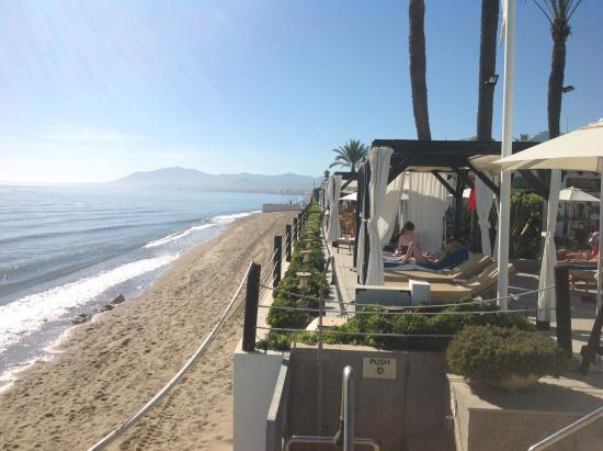 Los Monteros Spa & Golf Resort GL: Spiaggia Hotel
