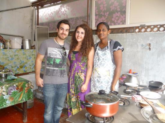 Mary - our teacher. - Picture of Mary\'s Kitchen, Kochi (Cochin ...