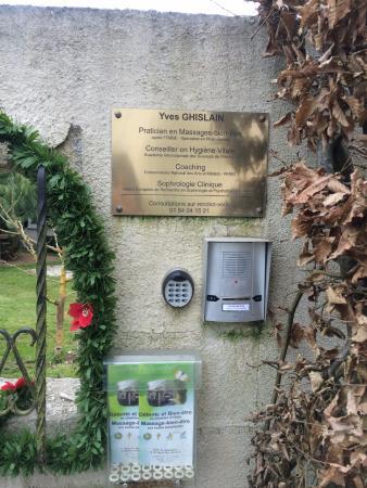 Seine-et-Marne, Francia: Entrée / plaque