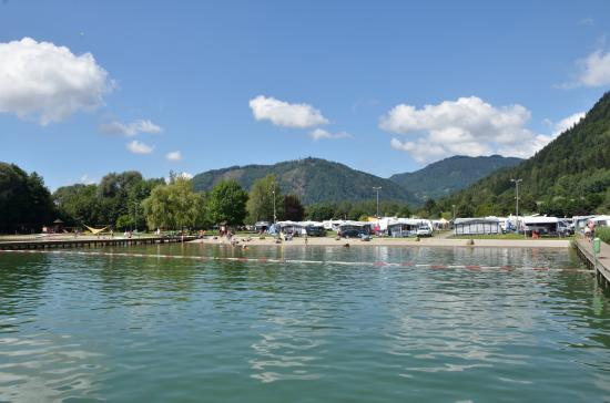 Terassen Camping Ossiacher See