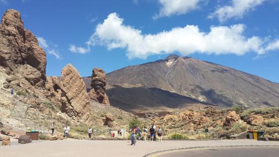 Parador de Canadas del Teide: палец бога