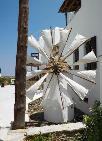 Agia Anna, Grecia: Windmill